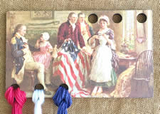 Betsy Ross Vintage Postcard