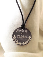 Home of a Stitcher Necklace