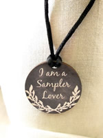 I am a Sampler Lover Necklace