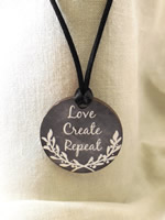 Love Create Repeat Necklace